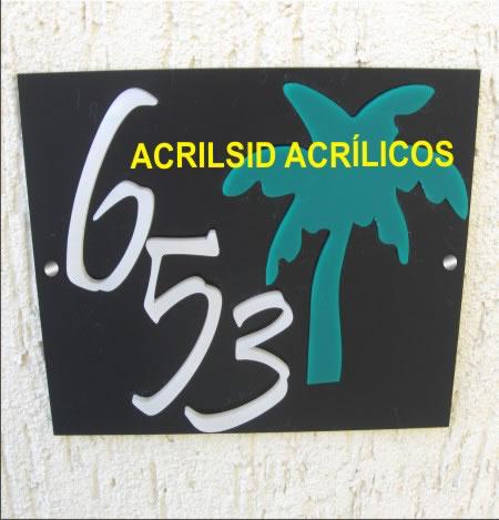 Placas de Homenagem em Acrílico
