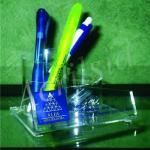 Porta caneta de acrílico