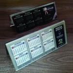 Calendário de mesa em acrílico preço