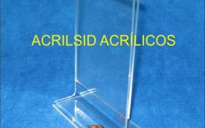 Displays em Acrílico T